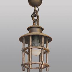Hängeleuchte – geschmiedete Lampe KLASSIK – Außendeckenleuchte